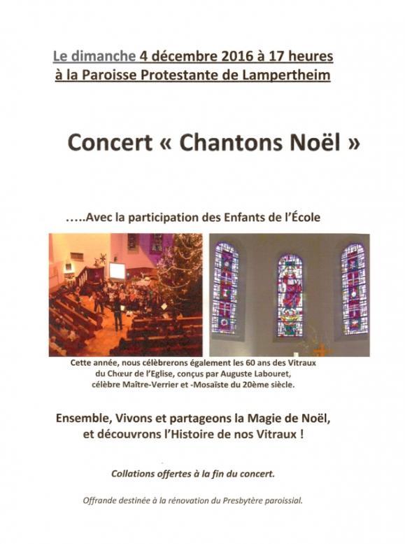 2016 11 23 concert chantons noel a lampertheim