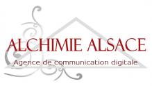 Agence de communication alchimie alsace logo 1