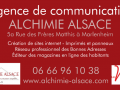 Banderole alchimie alsace