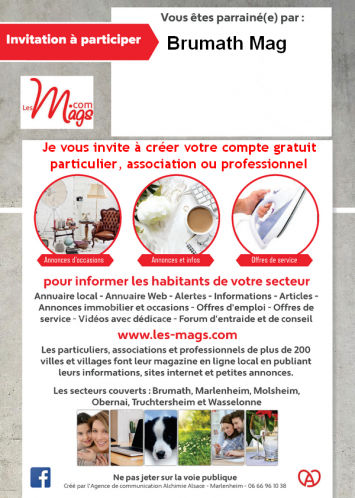 Carte d invitation brumath mag