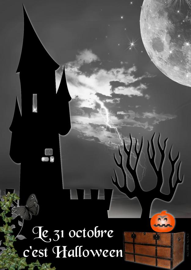 Halloween agenda