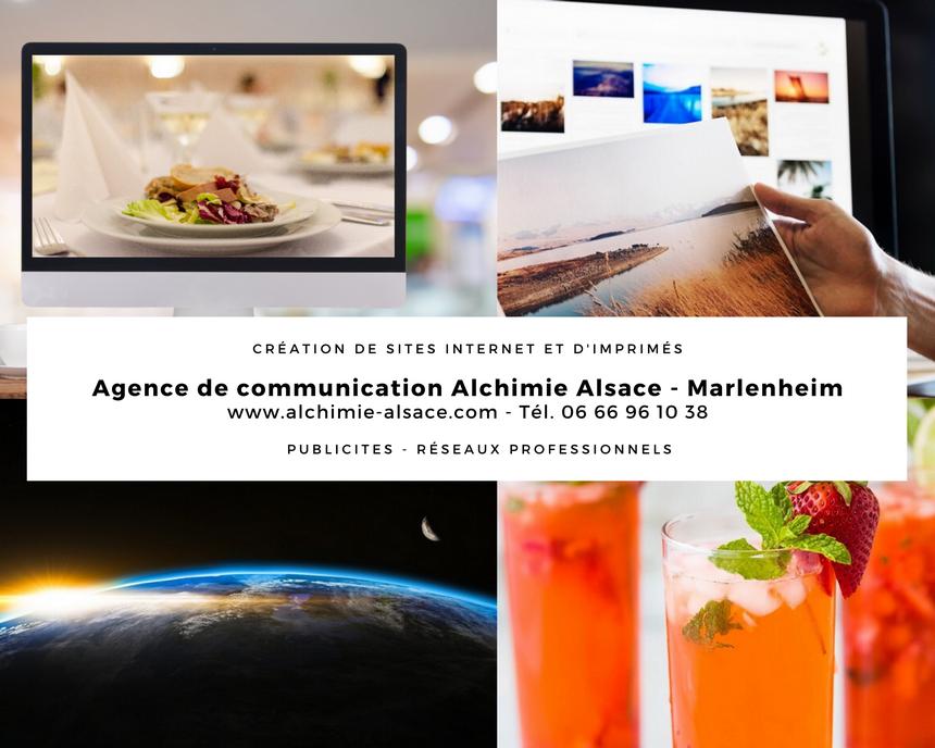 L'Agence de communication Alchimie Alsace à Marlenheim